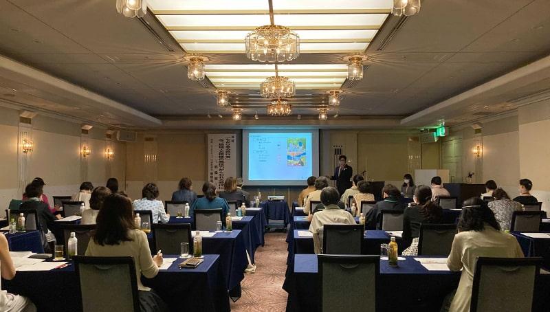 静岡県へ講演会に同行しました